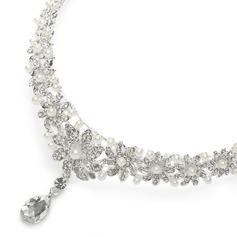 speciaal Bergkristal/Legering Voorhoofd Sieraden (042017843)