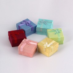 Simples Papelão Senhoras Caixa de jóias (050041311)