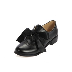Women's Leatherette Low Heel Flats With Braided Strap shoes (086097426)