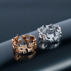 Unique Cat Women's Fashion Rings Geschenken (129140496)