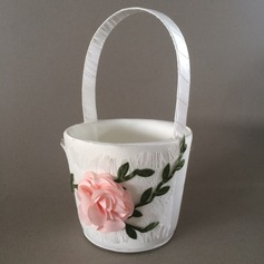 Nice Cesta de flores com Flor (102120393)
