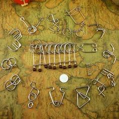 игрушки Современный Металл Набор головоломок головоломки мозга неперсонализированную Подарки (129140523)