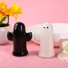 Bonito Animal Cerâmica Salt & Pimenta Abanadores (Conjunto de 2 peças) (051031273)