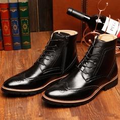 Мужская натуральня кожа Chukka вскользь Men's Boots (261172192)