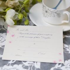 цветочный Стиль Плоская карта Invitation Cards (набор из 50) (114063989)