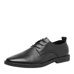 Hommes Vrai Cuir Dentelle Travail Chaussures Oxford pour hommes (259171651)