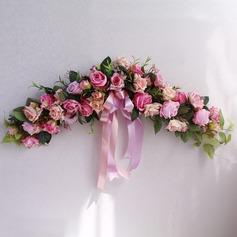 Открытый красивая элегантные шелковые цветы Домашнего декора продается в одном (203175807)