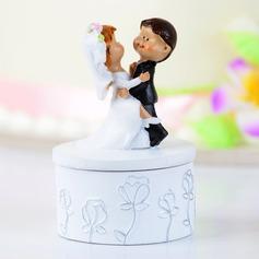 Dança do casal Resina Casamento Decorações de bolos (119038313)