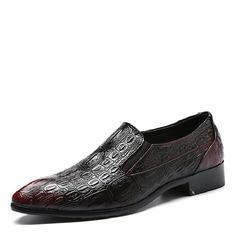 Мужская кожа Пенни Лоафер вскользь Men's Loafers (260171617)