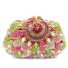 великолепный Кристалл / горный хрусталь/сплав Клатчи/Роскошные сумка (012079754)