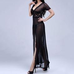 кружева/шифон женственный пижама (041068837)