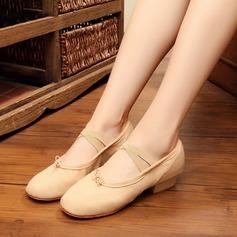Kvinner Lerret Ballett Mage Dansesko (053121382)