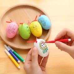 яйцо дизайн пластиковые яйцо дизайн (набор из 6) (051154375)