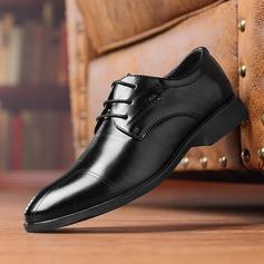Hommes Cuir en Microfibre Dentelle Chaussures habillées Travail Chaussures Oxford pour hommes (259173769)