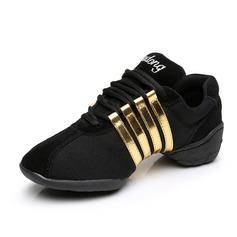 Женщины Замша Танцевальные кроссовки Танцевальные кроссовки Обувь для танцев (053088014)