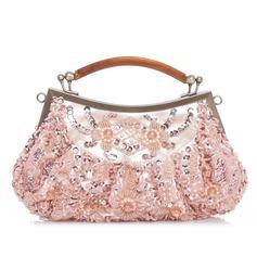 Único Satén Bolsos de Moda (012039136)
