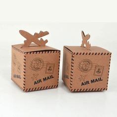 Cubi Papel Kraft Caixas do Favor (conjunto de 12) (050146441)