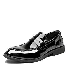 Мужская кожа из микроволокна Пенни Лоафер вскользь Men's Loafers (260173569)