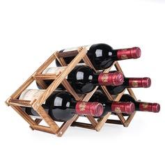 простой классический деревянный Винный шкаф (203199433)