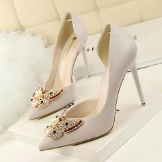 Donna Similpelle Tacco a spillo Stiletto scarpe (085103771)