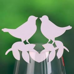 Liefde Vogel Parel Papier Plaatskaarten (set van 12) (131037409)
