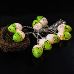 яйцо дизайн акрил зажигалки с Светодиодные лампы (набор из 10) (051154368)