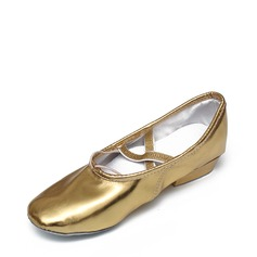 Женщины кожа Джаз Обувь для танцев (053121387)