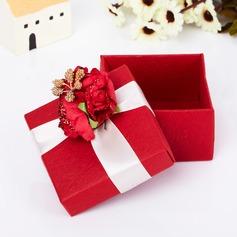 Clásico Cuboidea Cajas de regalos con Flores (Juego de 12) (050039704)