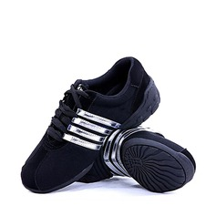 Мужская Холст Танцевальные кроссовки Обувь для танцев (053018516)