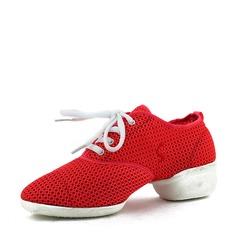 Женщины сетка Танцевальные кроссовки Танцевальные кроссовки Обувь для танцев (053131885)