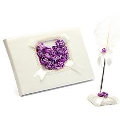 Идеально розовый Гостевая книга & перо набор (101049644)