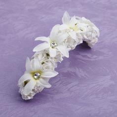 Атлас/Бумага Девушки цветка Головной убор (042026182)