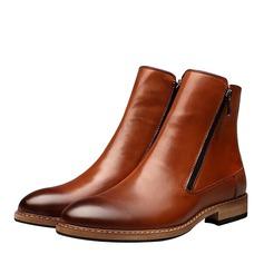 Мужская кожа Chukka вскользь Men's Boots (261172188)