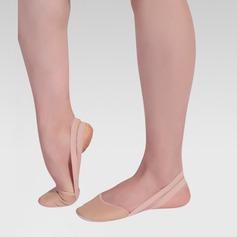 Kvinner Lær Flate sko Ballett Mage Dansesko (053122009)