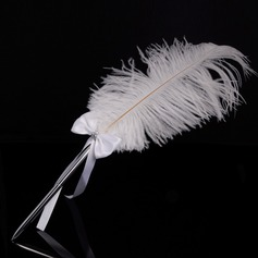 Elegante Diamantes de imitación/Arco/Pluma sistema de la pluma (101151597)