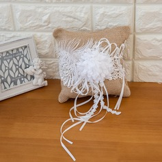 Чистая элегантность Кольцо подушки в Атлас с Ленты (103093319)