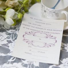 классический стиль Плоская карта Invitation Cards (набор из 50) (114063995)