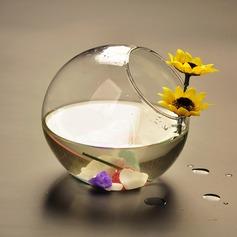 Durchmesser 8cm Einfache Glas Vase (In Einem Stück Verkauft) (128070688)