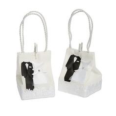 Tuxedo & Gown Handbag shaped Favor Bags (Set of 12) (050058283)