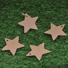 Звезды дизайн крафт-бумаги Тэги (набор из 50) (051074061)