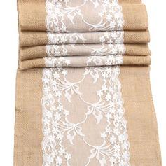 Tafelkleed Linnen (Verkocht in één stuk) Eenvoudig Tafel Middenstuk (128152270)