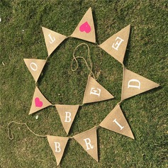 Linen Photo Booth Props/Banner (11 Pieces) (131143938)
