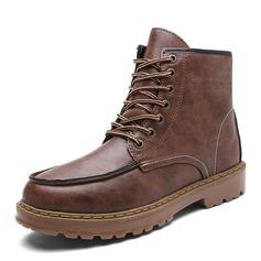 Menn Lær Snø støvler Avslappet Boots til herre (261172213)