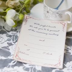 классический стиль Плоская карта Invitation Cards (набор из 50) (114063998)