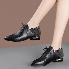 Женщины PU Низкий каблук На плокой подошве أحذية (086211876)