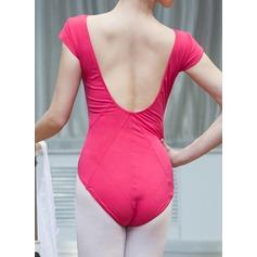 Женщины Одежда для танцев хлопок Балет Практика Балетное трико (115121771)