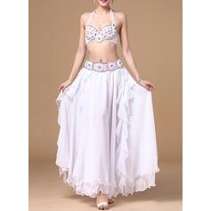 Женщины Одежда для танцев хлопок полиэстер шифон Танец живота Инвентарь (115086465)