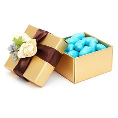Klassieke Balk Bedank Doosjes met Bloemen/Linten (Set van 12) (050016134)