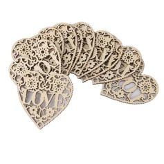 Liefde Ontwerp Houten Decoratieve Accessoires (Set van 50) (131124911)