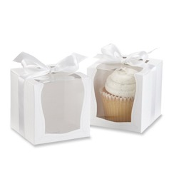 Ницца Корень картона бумаги Фавор коробки и контейнеры/пирожня Коробки с Ленты (набор из 12) (050057658)
